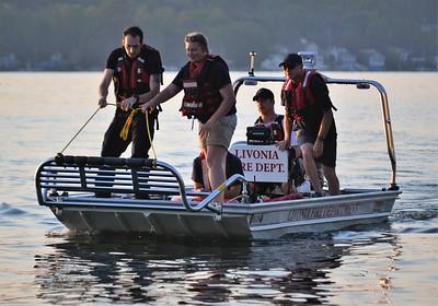 Water Rescue Drill - Conesus Lake, Livonia, NY - 8/5/19