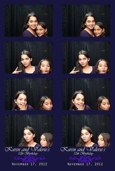 Karen and Valerie's Birthday Party