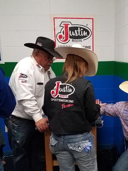 Sami Pearson Treating A Rodeo Athlete.jpg