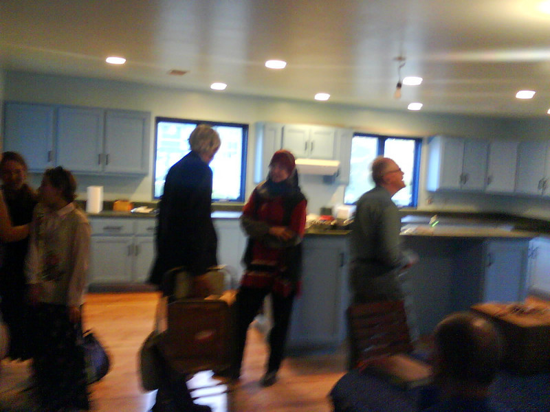 Barb Lund's new kitchen