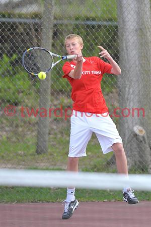 2014 CHS Boys Tennis - Xavier