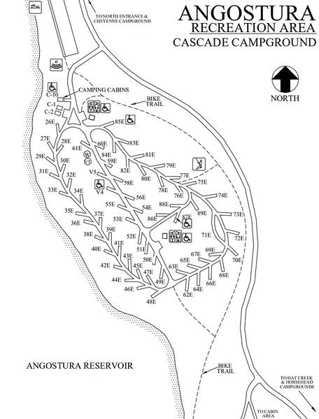 Angostura Recreation Area (Cascade Campground)