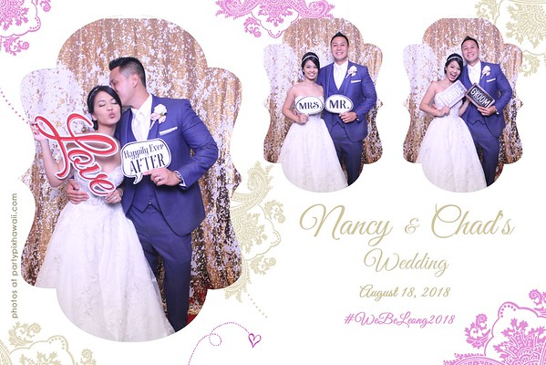 Nancy & Chad's Wedding (Magic Mirror Photo Booth)