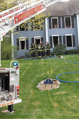 3 Alarm Structure Fire -  Andover MA - 15 Stoneybrook Dr. 4/25/10
