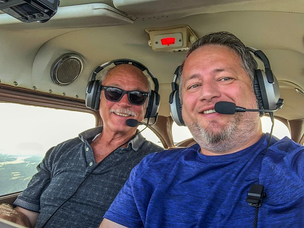 Fathers Day flight with Dad