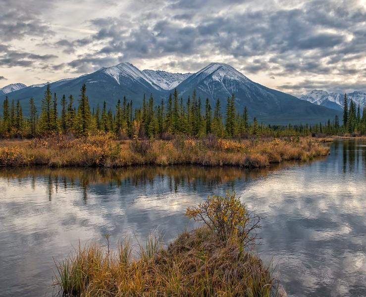 Vermillion Lakes Landscape