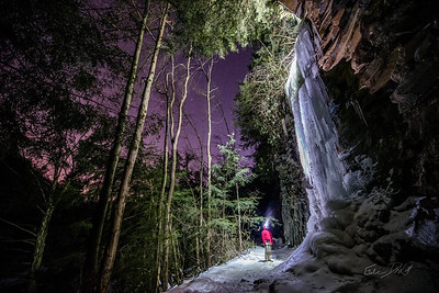 Ice Climbing - Swallow Falls MD