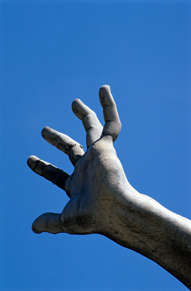 Detail of Hand of Statue, Rome (Italy)