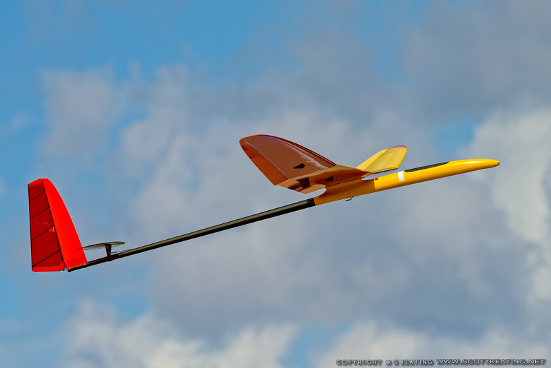 Rick Eckel's Supra (Kennedy Composites) - FSS (Florida Soaring Society) contest #1 2018, hosted by the Orlando Buzzards in Christmas, Florida