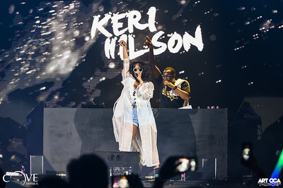 2018.4.20 - Keri Hilson at Cove Manila