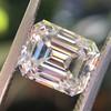 1.83ct Vintage Emerald Cut Diamond GIA F VVS2 8