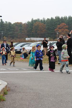 Moose Hill Halloween Parade 2013