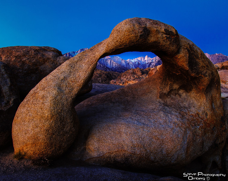Mobius Arch, Alabama HIlls outside Lone Pine