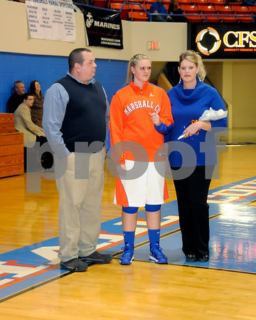 Marshall County Winter 2013 Sports Senior Night February 5, 2013. Basketball Players Were All I Was Able To Get As I Was Unable To Get There For The First Portion Of The Program.