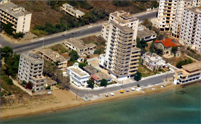 Aerial photos of Famagusta (2003)