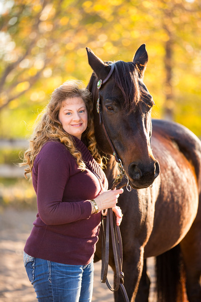 Helen and Cocoa- Equine