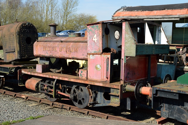 0-4-0ST No4 'British Gypsum'     06/04/15