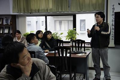 20111209 台北市立教育大學&國防大學參訪