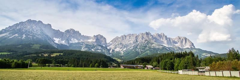 Drive to Mayrhofen from Salzburg