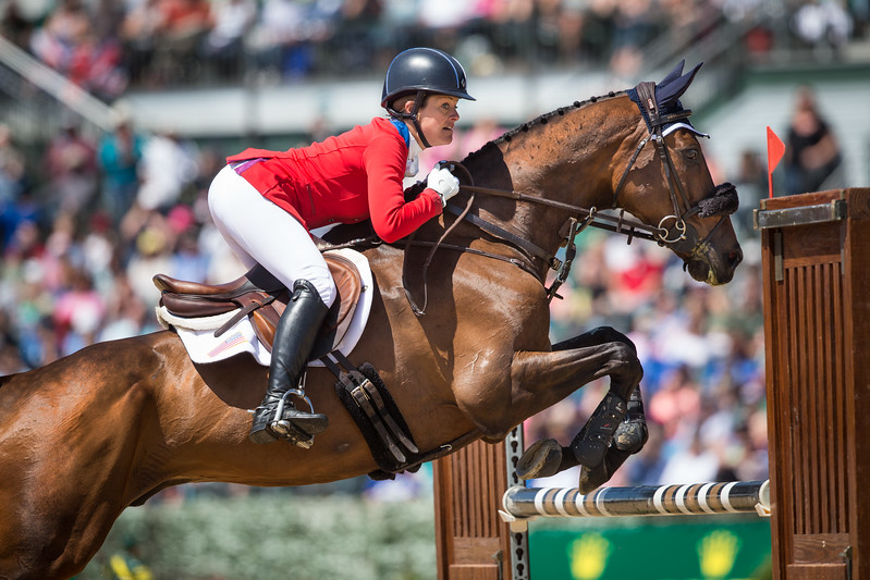 Lynn Symansky and Donner were the highest finish for an OTTB at Rolex Kentucky 3-day. They finished in 12th position overall.