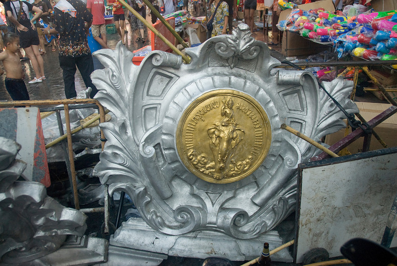 Paraphernalia of the 2010 Songkran Festival activities