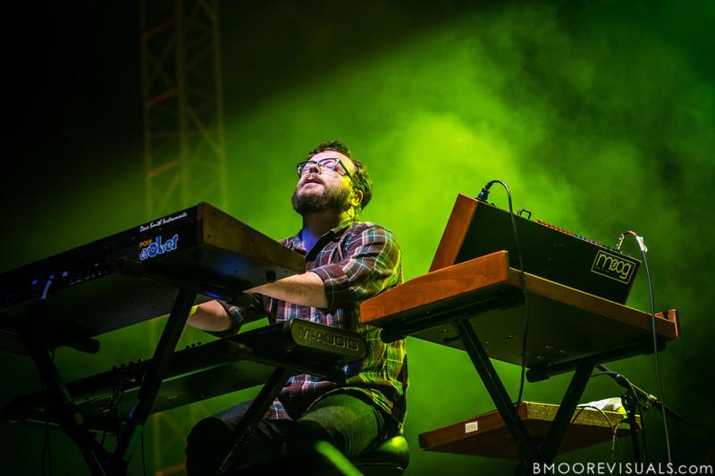 Joe Lester of Silversun Pickups performs on December 1, 2012 during 97X Next Big Thing at Vinoy Park in St. Petersburg, Florida