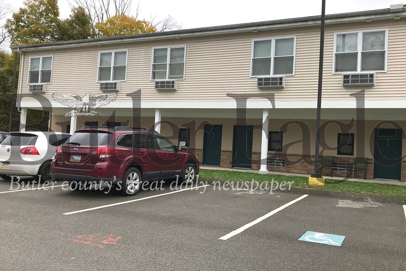 80685 Stoneworth Apartments in Worth Twp  where there was a overnight shooting PA state police had to shot a lady with a gun on Sunday