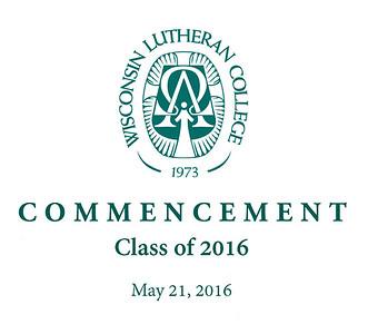 WLC Commencement 2016 Photo Info