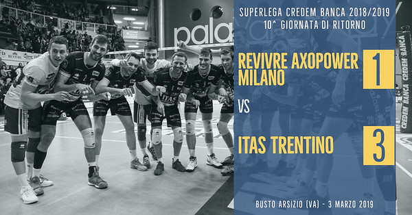 10^ Rit: Revivre Axopower Milano - Itas Trentino