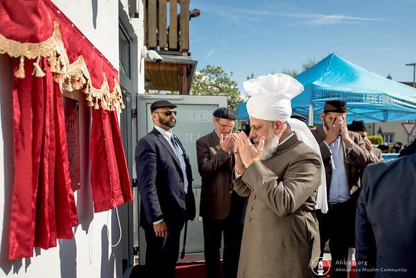 Inauguration of Aafiyat Mosque in Waldshut-Tiengen, Germany