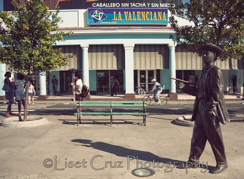 Paseo del Prado.Cienfuegos.Cuba.