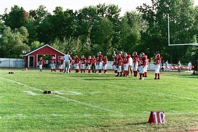 Boys Varisty Football - 9/9/2005 Orchard View SB