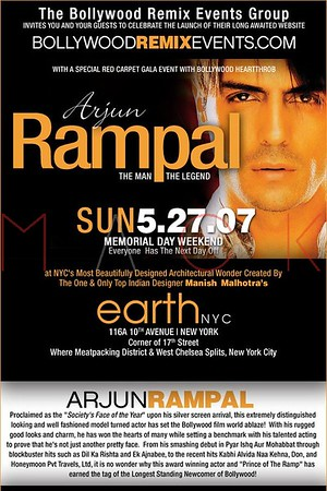Bollywood Remix Events at Club Earth - May 27, 2007