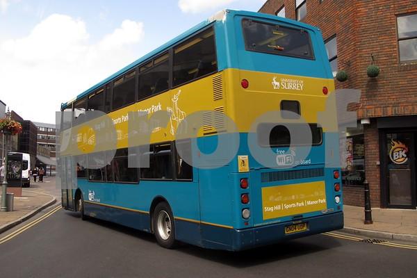 Guildford Buses Surrey July 2015