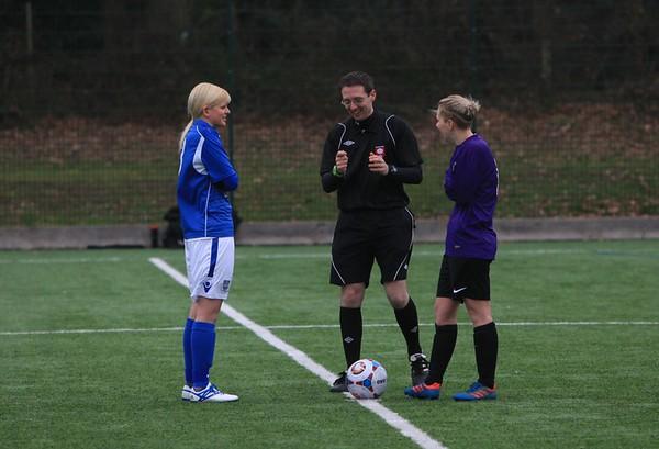 Eastleigh Ladies (8) v AFC Stoneham Ladies (2) 12.2.2017