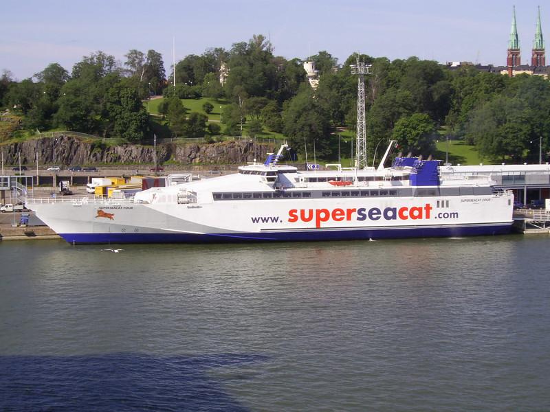 2007 - SUPERSEACAT FOUR in Helsinki.