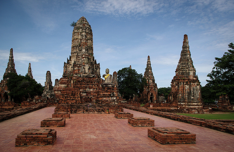 the old architecture IV (ayutthaya)