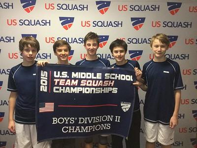 2015 U.S. Middle School Team Squash Championships