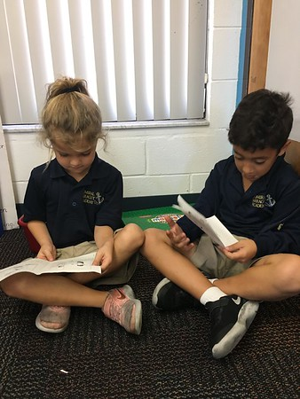 More partner reading! Readers are Leaders!