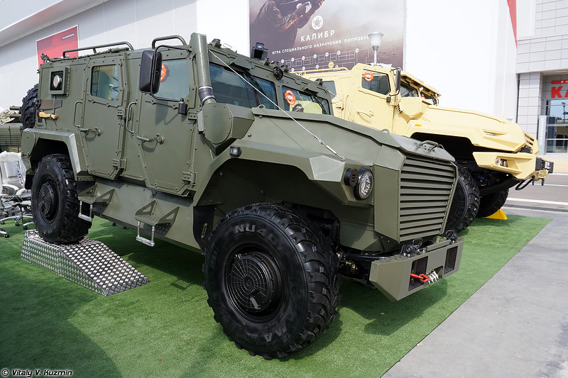 Military-technical forum ARMY-2019 - Static displays part 2: Armored and tactical vehicles