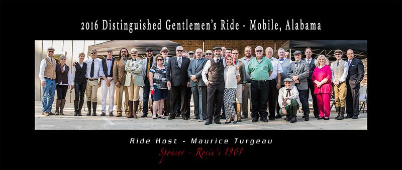 Distinguished Gentleman's Ride - 2016