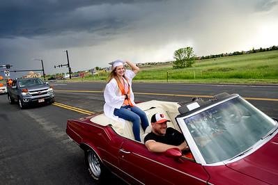 Photos: Erie Graduates Celebrate With Parade Through Town
