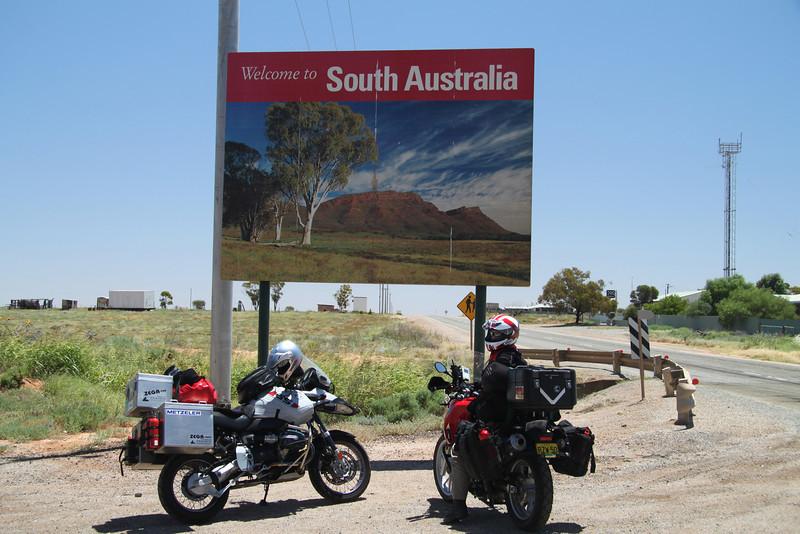NSW / SA border