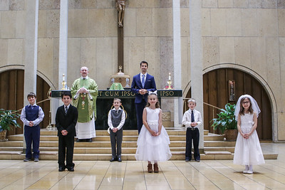 First Communion Aug 2 2020 Individual, Family, Group