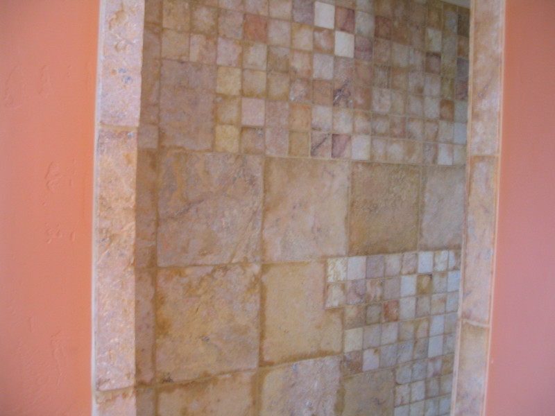 Another view of the entry to the master bath shower.