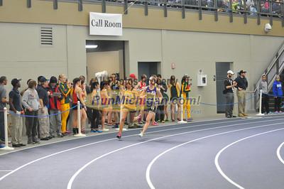 Women's 800 - 2014 GLIAC Indoor Meet