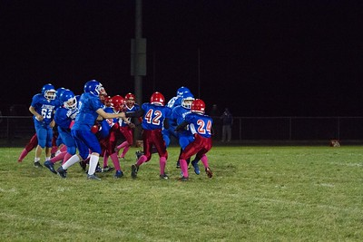 10/03/15 Pleasant Plains vs Auburn