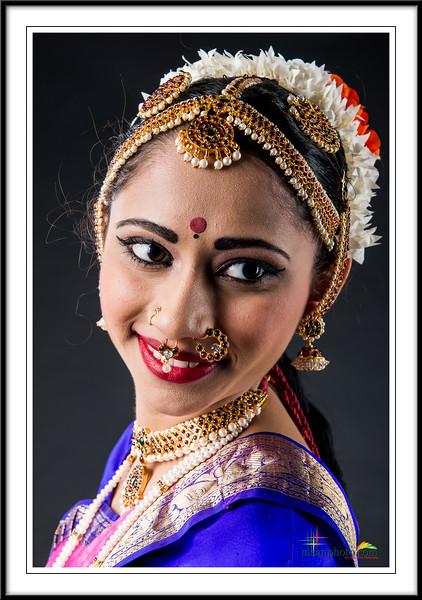 Shivani's Pre-Arangetram Portraits 2017
