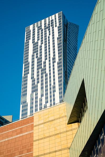 Modern architecture, Warsaw, Poland