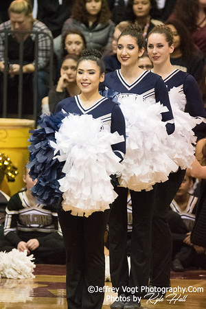 2/3/2018 Magruder HS at MCPS County Poms Championship Blair HS Division 1, Photos by Jeffrey Vogt Photography with Kyle Hall